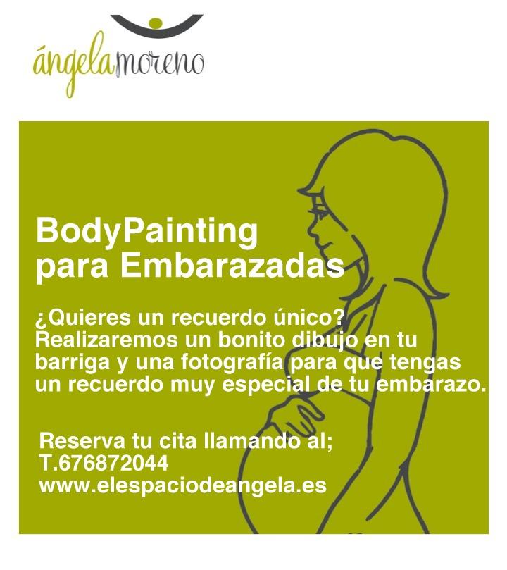 angela logroño bodypainting embarazadas - Body Painting para Embarazadas