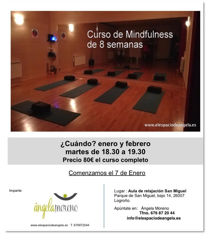 cartel 8 semanas facebook enero 2020 - Curso de Mindfulness