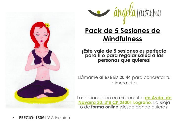 mindfulness pack 5 sesiones - Packs de Sesiones